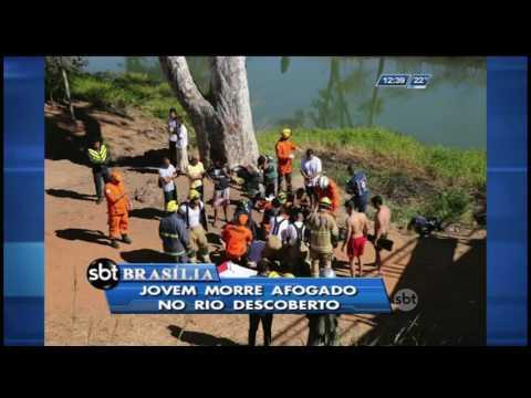 Jovem morre afogado no Rio Descoberto