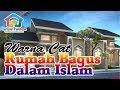 Warna cat rumah yang bagus menurut islam tampak depan