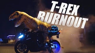 T-Rex Burnout (One Shot Take)