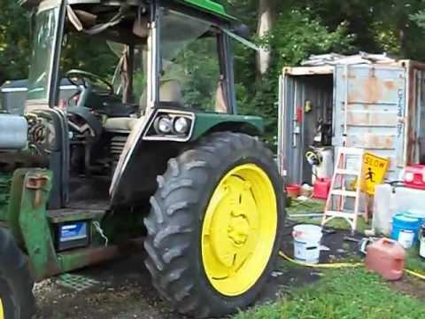 John Deere 2355 tractor split clutch replacement Part 1 YouTube – John Deere 2355 Engine Diagram