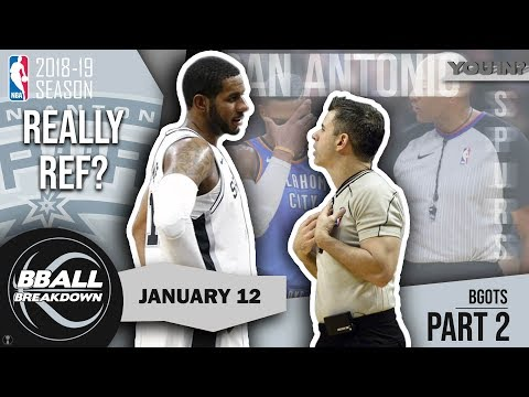 Spurs Beat Thunder With Help From Referees?