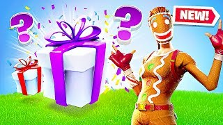 Fortnite *NEW* Gifting System! Send & Recieve GIFTS!! (Fortnite Battle Royale)