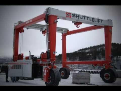 Shuttlelift - Rubber Tired Gantry Cranes