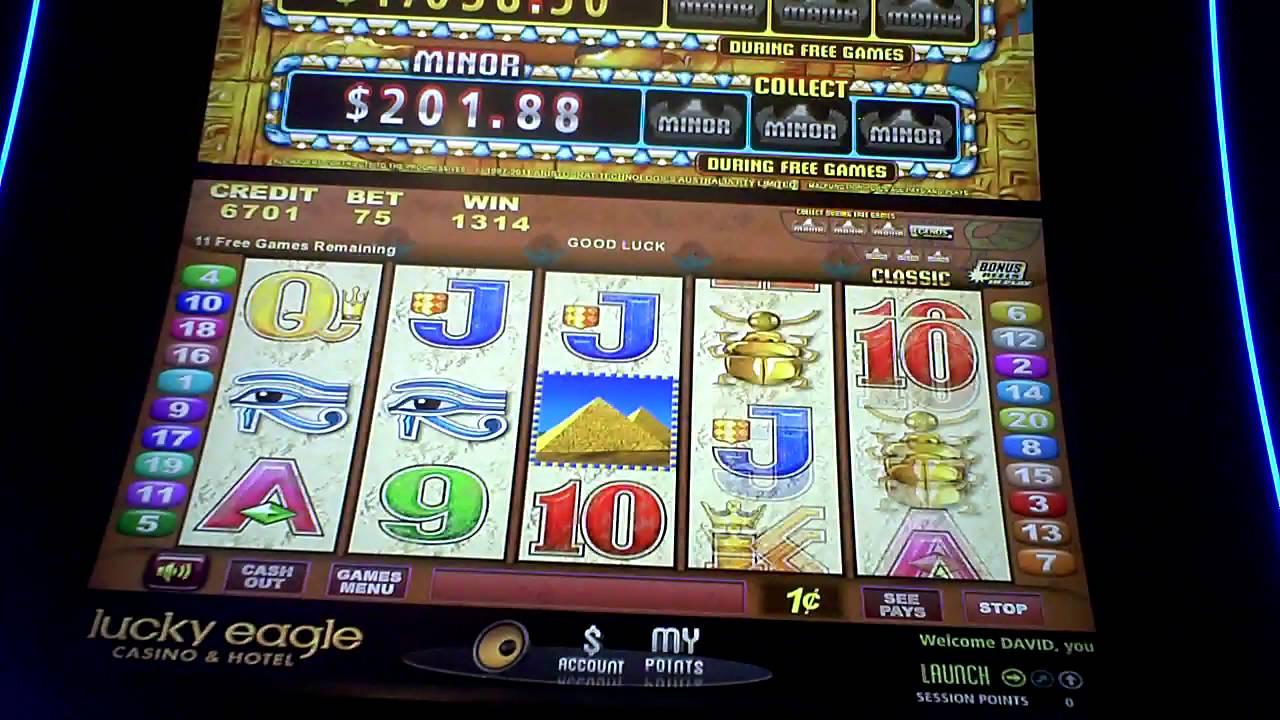 of the nile slot machine