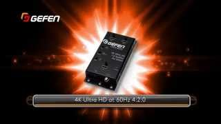 Gefen New Products 2015 - 4K Ultra HD Splitters for HDMI