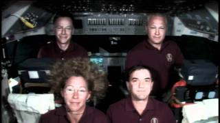 STS-135 Flight Day 13 Interviews