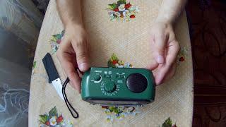 ????Радио выживальщика, динамо радио. Самый честный обзор.