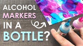 What if MARKERS were... BOTTLED? - Paletteful Pack Unboxing & Challenge