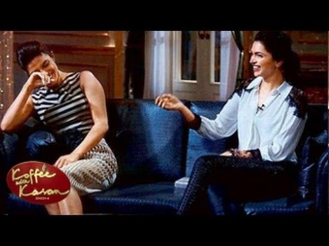 Deepika & Priyanka's DELETED SCENES of Koffee with Karan 5th January 2014 FULL EPISODE