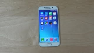 Samsung Galaxy S6 iOS 8 Theme - Review! (4K)