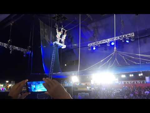Gymnastics performance at Circus Circus Las Vegas