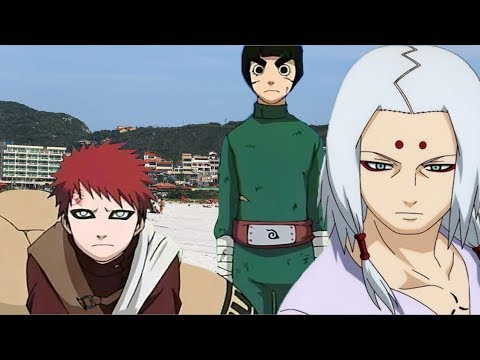 GAARA AND THE SAND OF THE GRAND BEACH