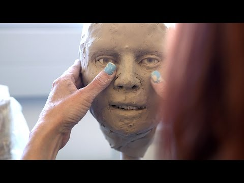 FBI Forensic Artist Creates Facial Approximations from Skulls