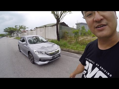Evo Malaysia.com | 2016 Honda Accord 2.0 Facelift Full Driving Review by Bobby
