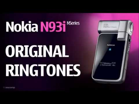 Nokia N93i Ringtones (Original) || Ringing camcorder