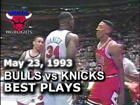 1993 Bulls vs Knicks game 1 highlights