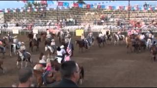 49th Annual Brown County Rodeo Grand Entry