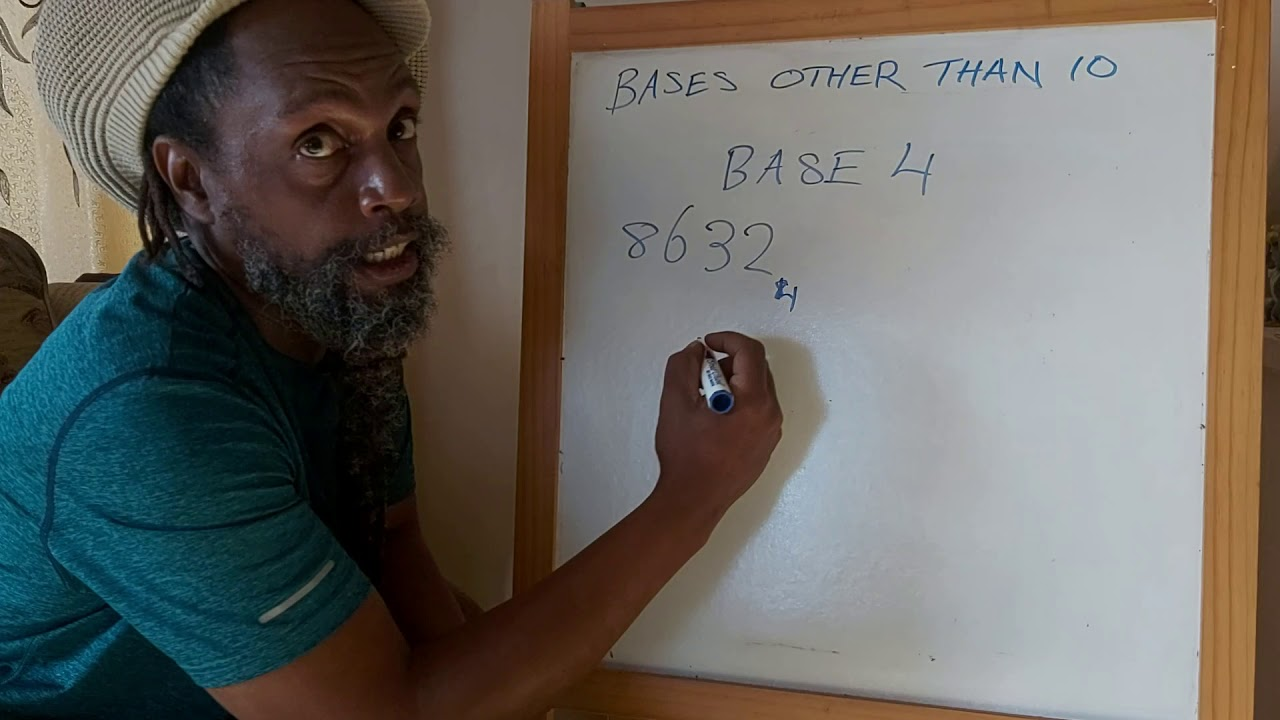 Baase Maths - Bases other than 10 - YouTube