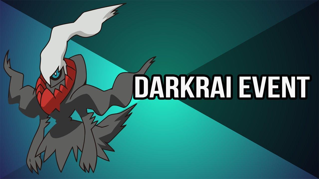 Pokémon ORAS/XY : Mythical Darkrai Mystery Gift Event - YouTube