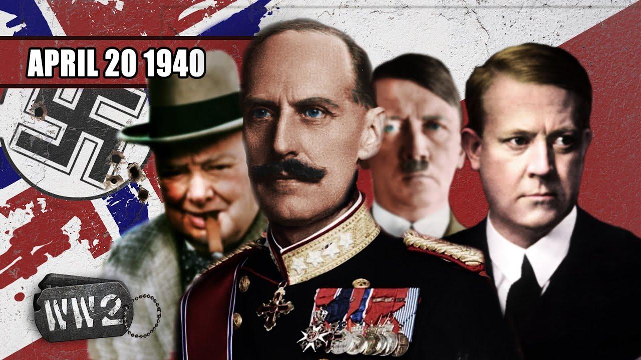 6c483f982e1 The Scramble For Norway - WW2 - 034 - April 20 1940 - YouTube