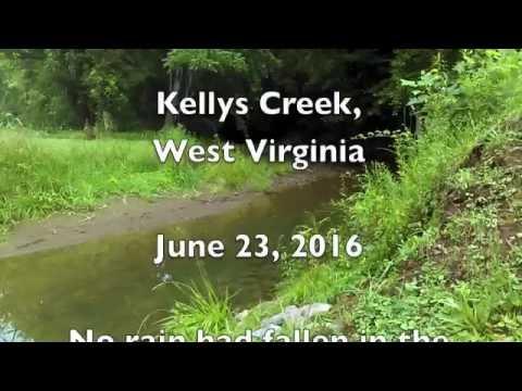 Kellys Creek Flash Flood - June 2016