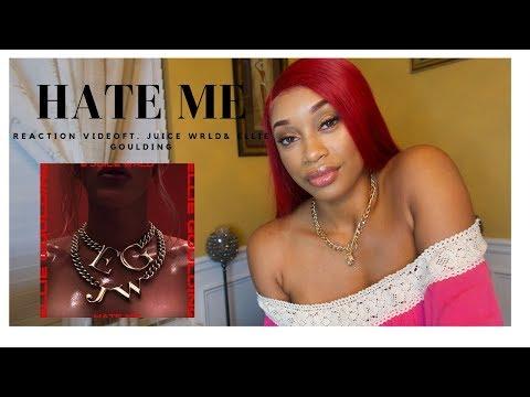 ***MUST WATCH***!!!! HATE ME ( REACTION VIDEO) FT. ELLIE GOULDING & JUICE WRLD