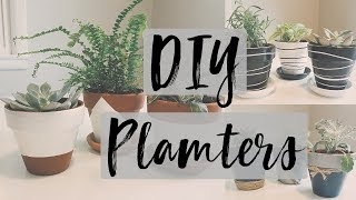DIY Planters Ideas- Cheap Terra-Cotta Pots