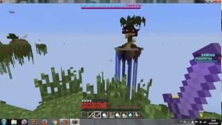 Jogando servidor craftlandia minigames: skywars