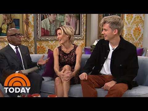 Asa Butterfield And Gillian Anderson Talk About 'Sex Education' | TODAY