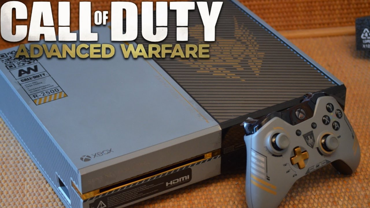 Call of Duty: Advanced Warfare - XBOX ONE Console UNBOXING ...