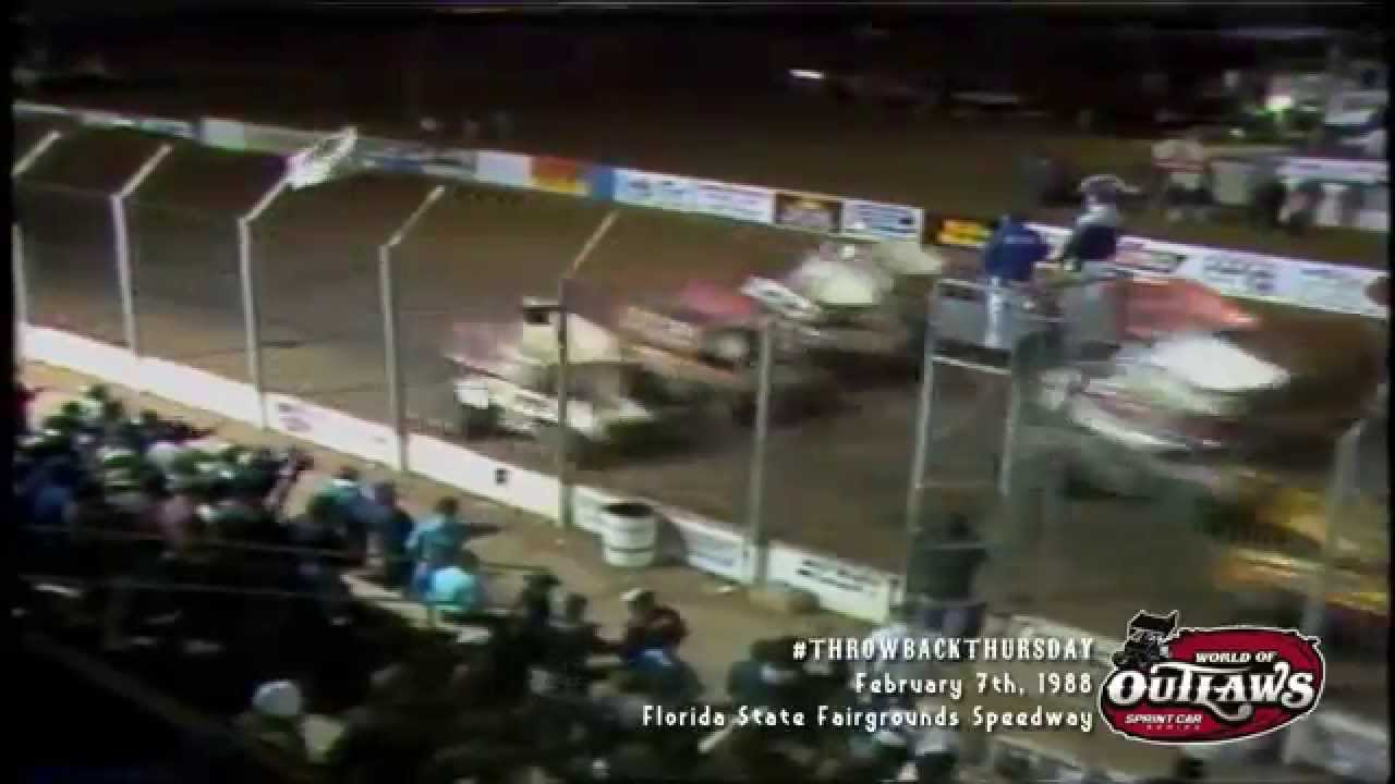 ThrowbackThursday World Of Outlaws Sprint Cars Florida State - Car show tampa fairgrounds