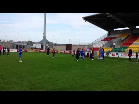 Esker Vs Malahide in Tallaght Stadium 28.9.13