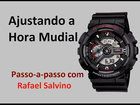 G Shock Mundialparte Salvino Ga Hora 37Rafael 110Ajustando Casio Qsdtrh