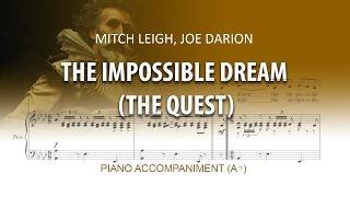 The Impossible Dream (The Quest) Karaoke piano / Man of la Mancha