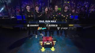BattleBots Basement Tapes: GRUFF vs. RAILGUN MAX