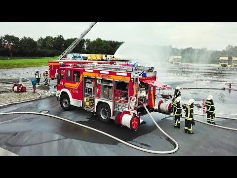 Einsatz der Feuerwehr Stadt Soest - Drohnenaufnahmen