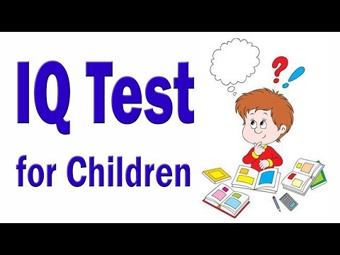 IQ Test For Children | Genius IQ Test With Answers