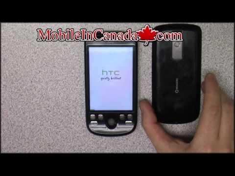 How to enter unlock code on Rogers HTC Magic/Dream - www.Mobileincanada.com