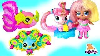 #LPS ЗЛЫЕ КУКЛЫ ЛОЛ + ЛИТЛ ПЕТ ШОП Littlest Pet Shop + LOL Dolls Новинки Игрушки для детей
