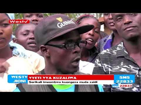 Misongamano imeshuhudiwa kwenye afisi za kusajili watu Bungoma