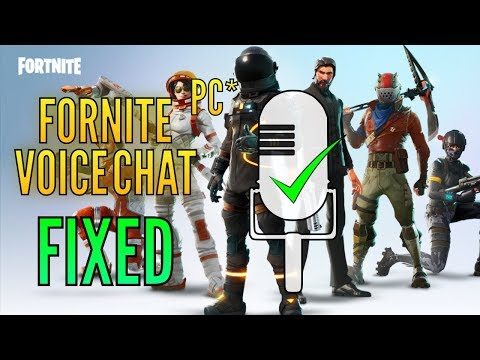 Fortnite Voice Chat Not Working - [Fixed]
