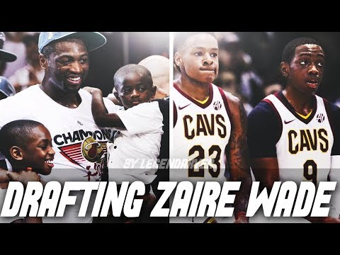 DRAFTING ZAIRE WADE! FUTURE MVP?! NBA 2K18