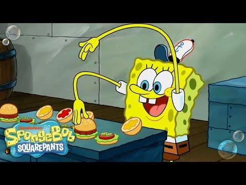 top-13-krabby-patty-moments!-🍔-#tbt-|-spongebob
