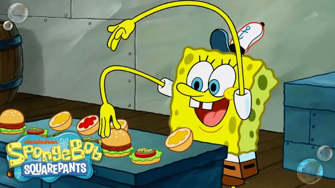 Top 13 Krabby Patty Moments 🍔 TBT
