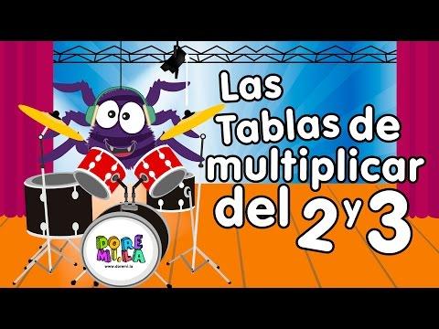 La tabla del 2 y 3 - Canciones Infantiles