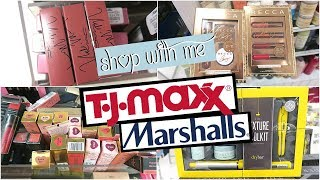 SHOP WITH ME AT TJ MAXX & MARSHALLS - TONS OF LIP PRODUCTS!