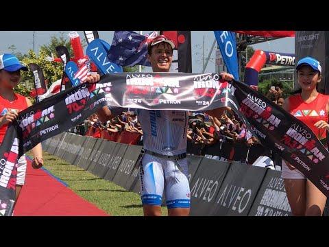 IRONMAN DAVAO 2019 WINNERS MARKUS ROLLI, CRAIG ALEXANDER, TIM VAN BERKEL