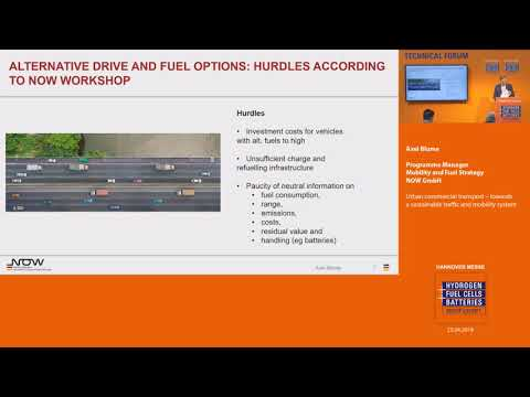 Urban commercial transport – towards a sustainable traffic and mobility system