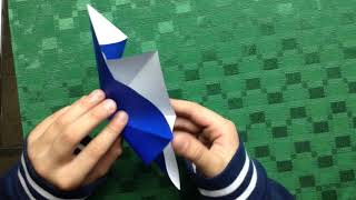 super easy origami fidget toy