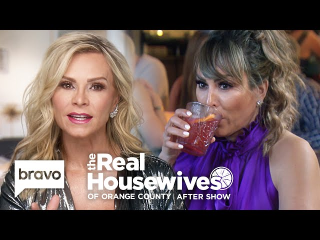Tamra Judge Explains How One Recording Ended Her Friendship With Kelly | RHOC After Show (S14 Ep16)
